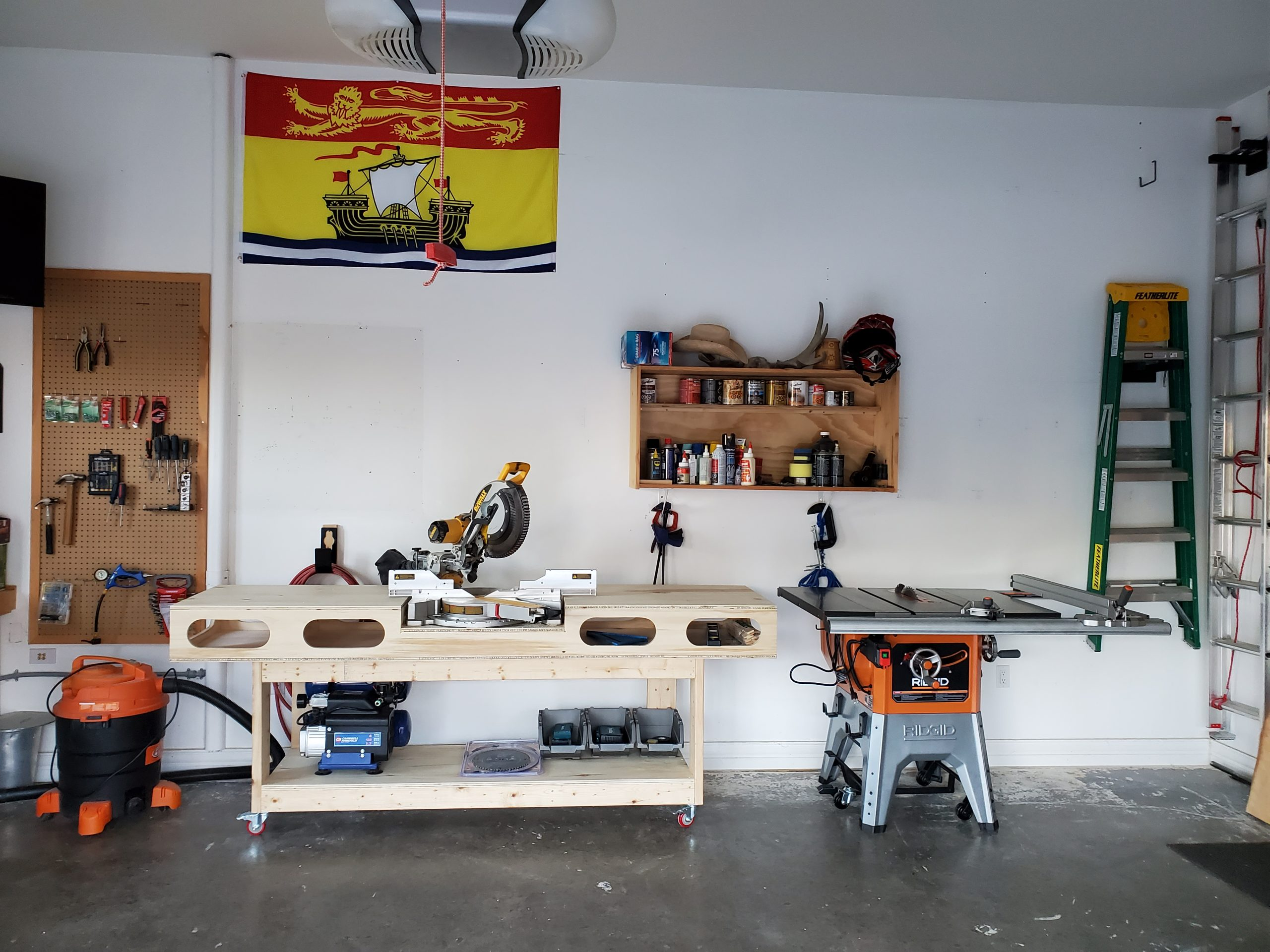 Table-Saw arrival